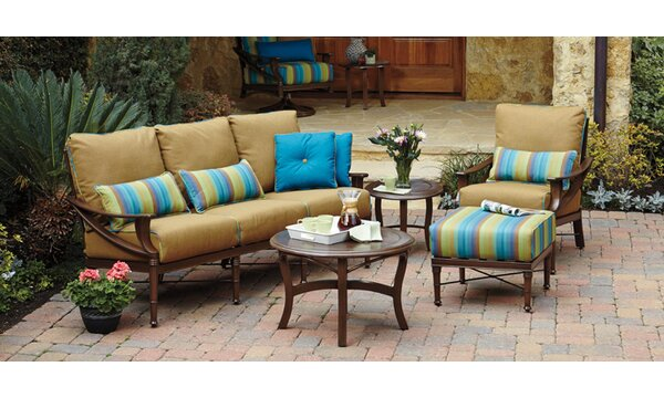 Arkadia Seating Group with Cushions by Woodard