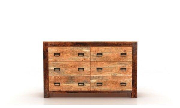 Roselli 6 Drawer Double Dresser by Loon Peak Loon Peak®