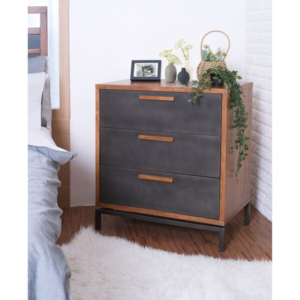 Blanco 3 Drawer Chest by Union Rustic