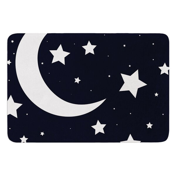 Moon and Stars Bath Mat by East Urban Home