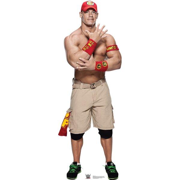 WWE John Cena Cardboard Standup by Advanced Graphics