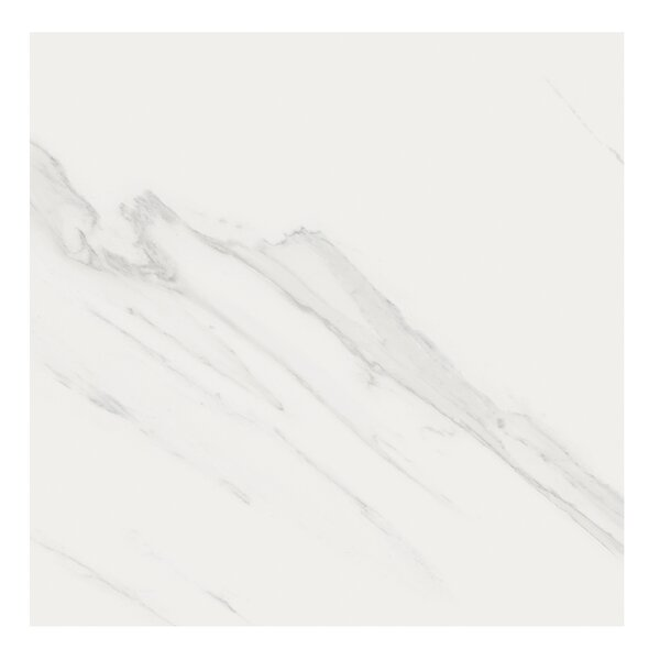 Marmi Pol 32 x 32 Porcelain Field Tile in Carrara by Casa Classica