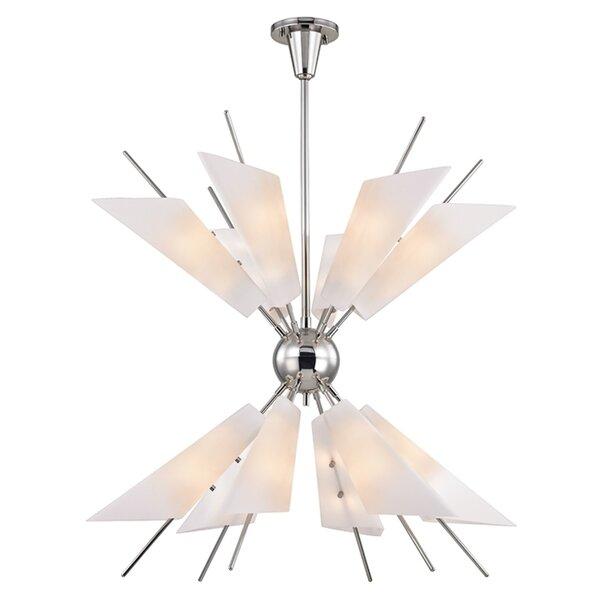 Addison 24-Light Sputnik Sphere Chandelier By Corrigan Studio