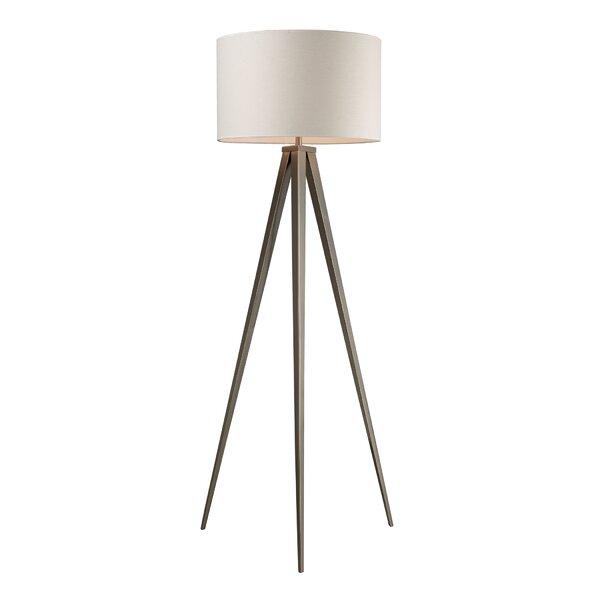 Watterson 61 Tripod Floor Lamp by Wade Logan