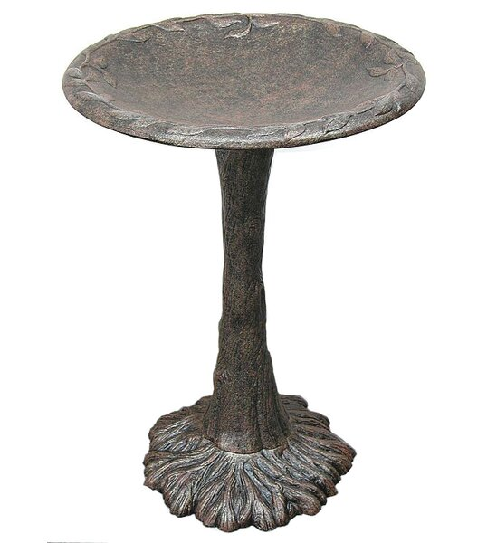 Classic Tree Birdbath by Innova Hearth and Home