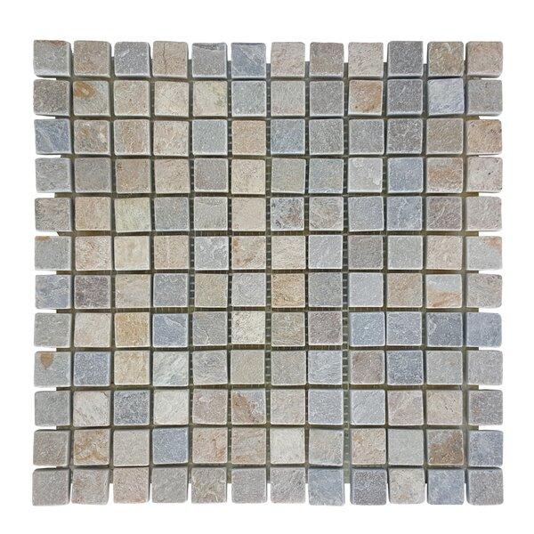 0.87 x 0.87 Stone Mosaic Tile in Atacama by Abolos