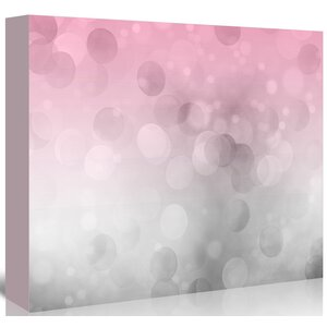 'Grey Pink Light' Graphic Art Print by East Urban Home