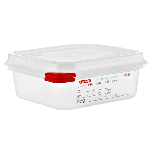 37 Oz. Food Storage Container (Set of 6) by Araven