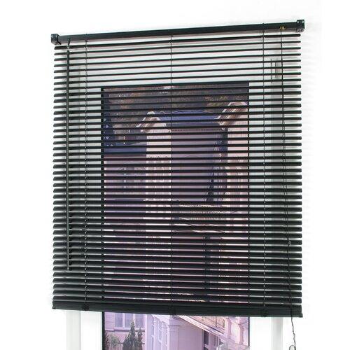 Jalousien Transparent ClearAmbient Größe: 220 L x 60 B cm| Farbe: Schwarz | Heimtextilien > Jalousien und Rollos > Jalousien | ClearAmbient
