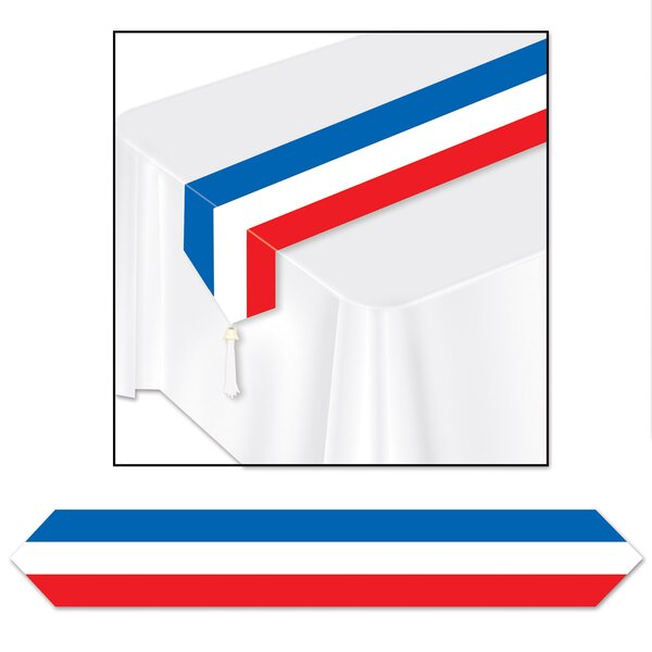 Patriotic Paperstock Runner by The Holiday Aisle