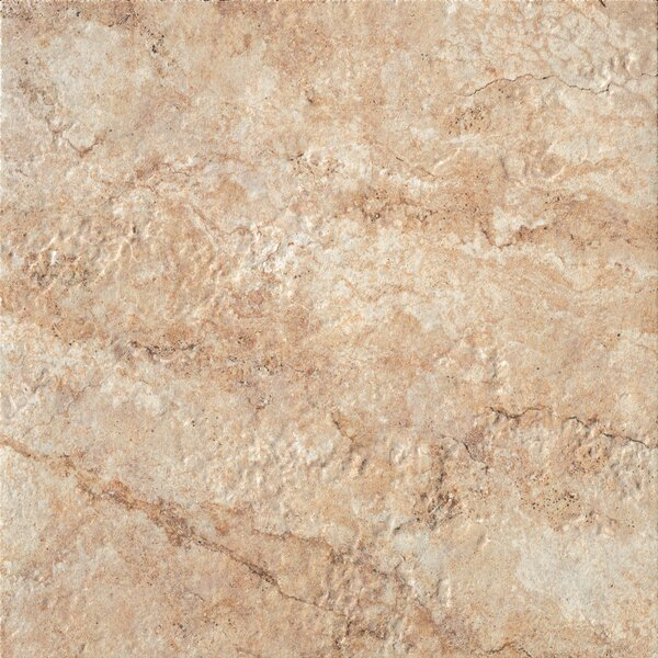 Forge 20 x 20 Porcelain Field Tile in Gold by Bedrosians