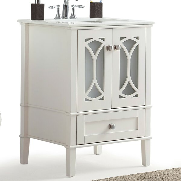 Paige 25 Single Bathroom Vanity Set by Simpli Home