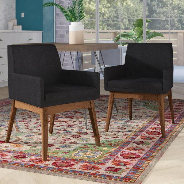Stallman Upholstered Dining Chair (Set of 2) by Brayden Studio