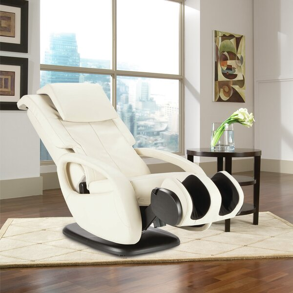 WholeBody Human Touch 7.1 Reclining Adjustable Width Heated Massage Chair With Ottoman By Human Touch