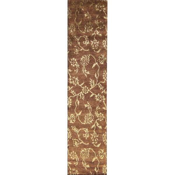 One-of-a-Kind Hand-Knotted Brown Indoor Area Rug by Bokara Rug Co., Inc.