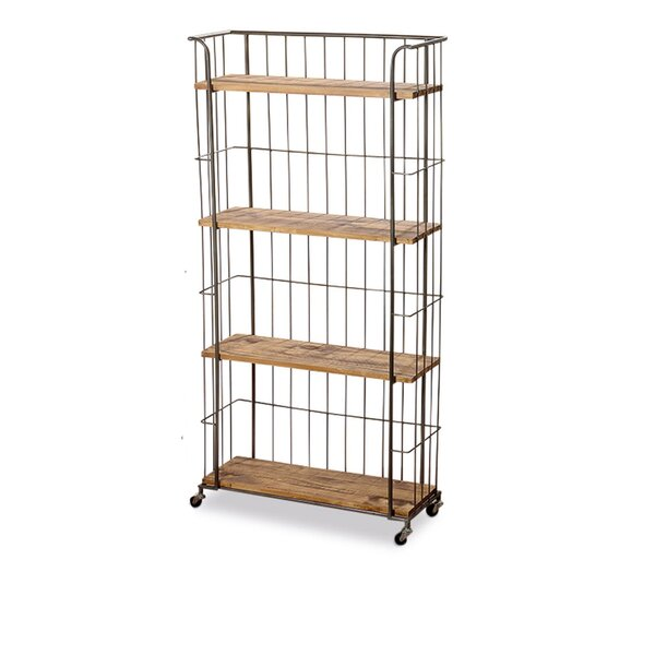 Aria Standard Bookcase By Gracie Oaks