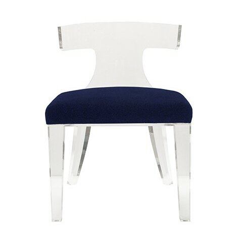 Klismos Side Chair By Worlds Away Sale