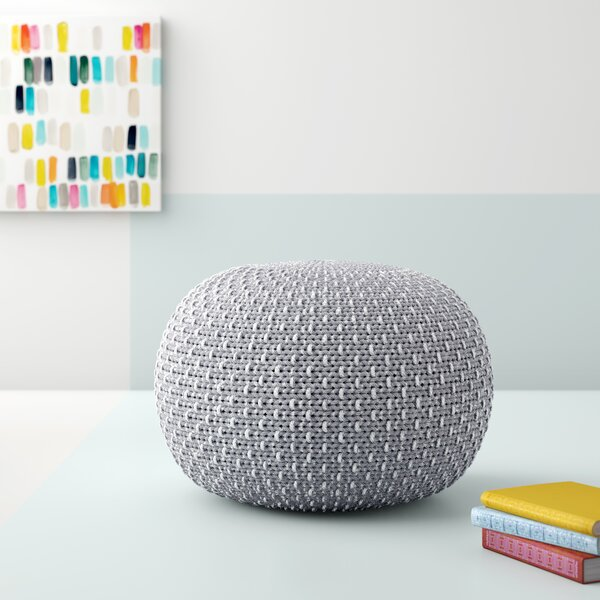 Beverly Hills Knitted Pouf by Hashtag Home