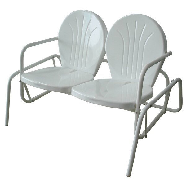 Amerihome Double Seat Glider Chair by Buffalo Tools