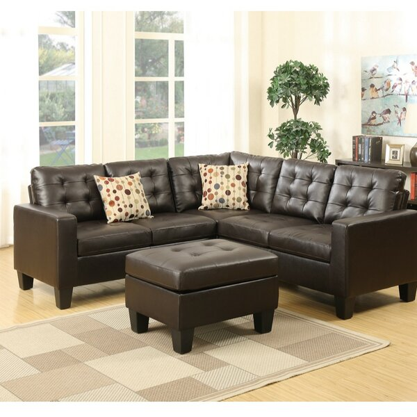 Laga Modular Sectional with Ottoman by Alcott Hill