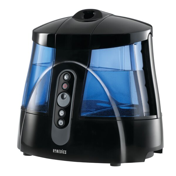 1.7 Gal. Cool and Warm Mist Ultrasonic Tabletop Humidifier by Homedics