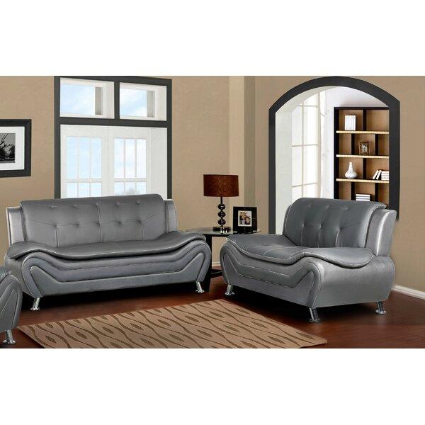 Lizbeth 2 Piece Living Room Set by Orren Ellis