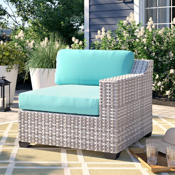 Falmouth Patio Loveseat with Cushions by Sol 72 Outdoor