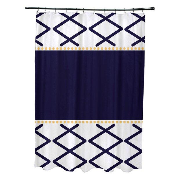 Bartow Knot Fancy Shower Curtain by Breakwater Bay