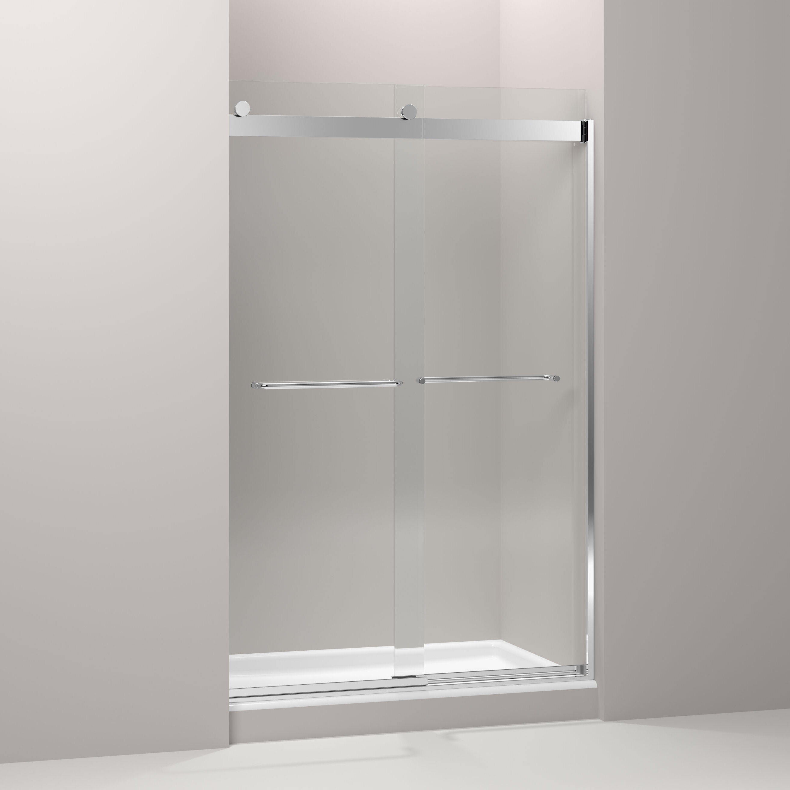 Kohler Levity 47 63 X 74 Bypass Shower Door With Cleancoat