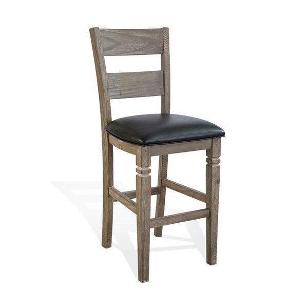 Calina 30 Wood Bar Stool by Gracie Oaks