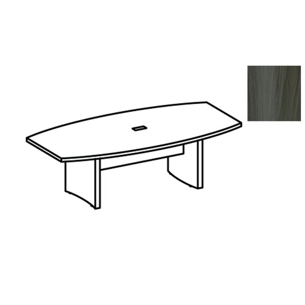 Aberdeen Boat shaped 29.5H x 36W x 72L Conference Table by Mayline Group