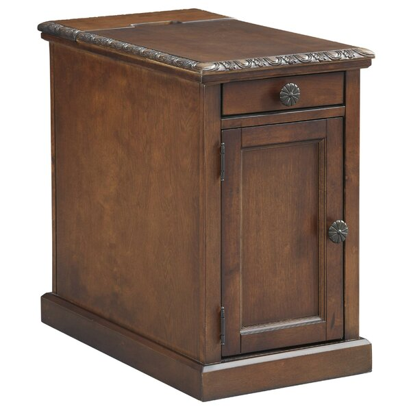 Schwenk Block End Table With Storage By Darby Home Co