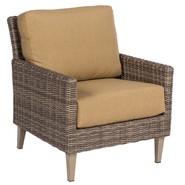 Parkway Patio Chair with Cushions by Woodard