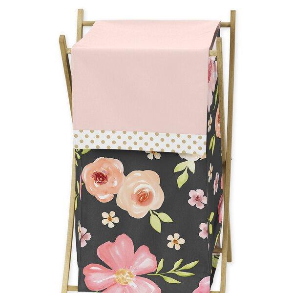 Watercolor Floral Laundry Hamper by Sweet Jojo Designs