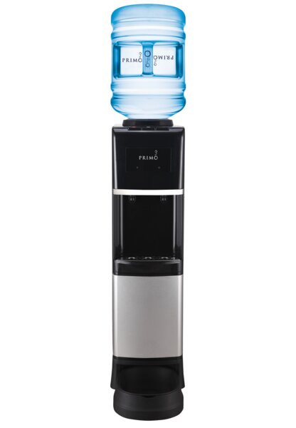 Free-Standing Hot and Cold Electric Water Cooler by Primo Water