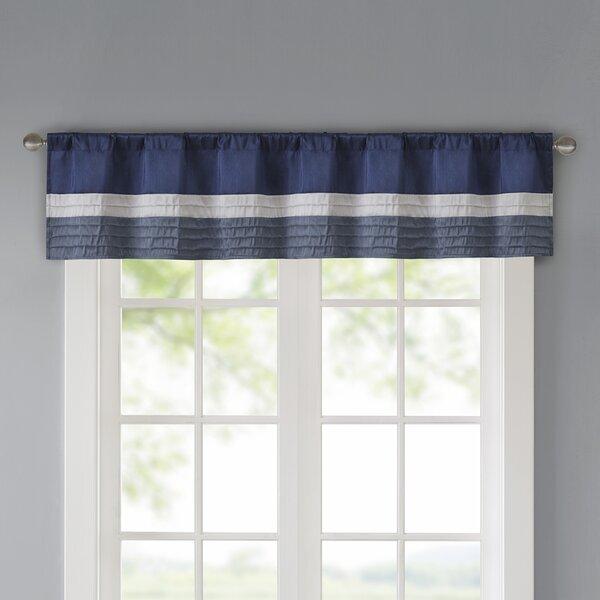 Berardi Pintuck 50 Window Valance by Three Posts