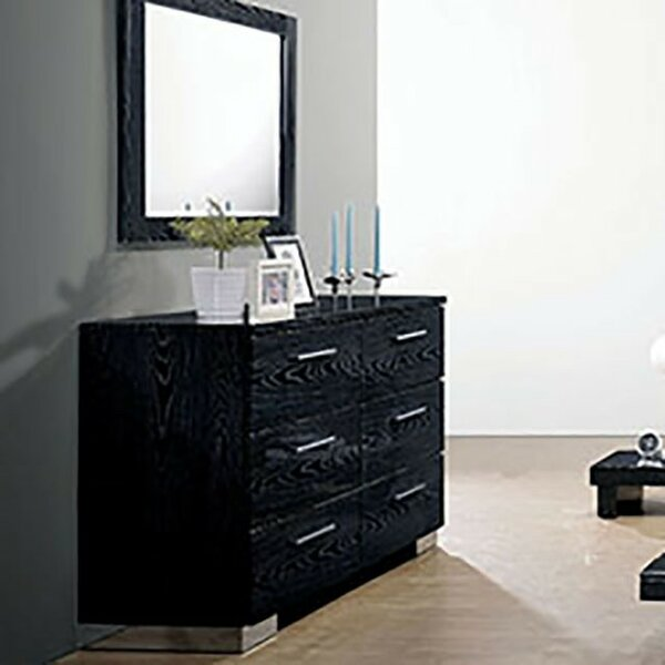 Florissant 6 Drawer Double Dresser by Orren Ellis