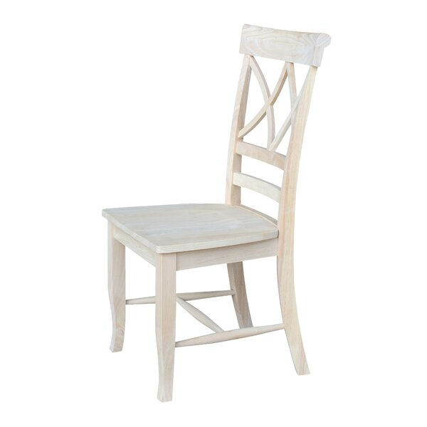 Hartman Solid Wood Dining Chair (Set Of 2) By August Grove