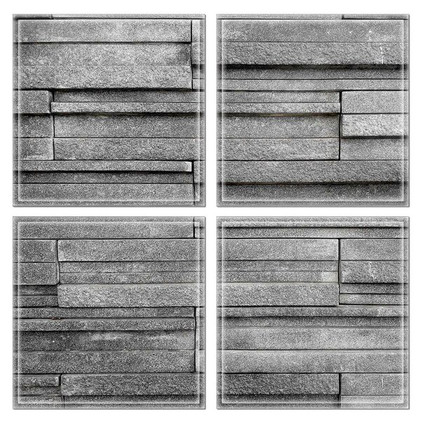 6 x 6 Glass Decorative Accent Tile in Gray by Upscale Designs by EMA