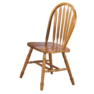 Amazing Lockwood Arrow Back Solid Wood Dining Chair (Set Of 2)
