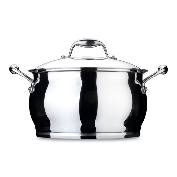 Zeno 10.6-qt. Stock Pot with Lid by BergHOFF International
