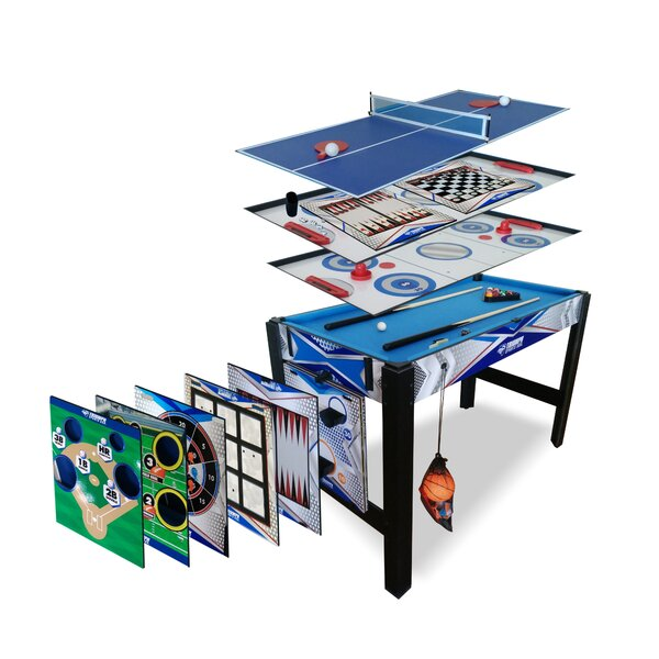 Triumph 13 in 1 Combo Game Table by Viva Sol