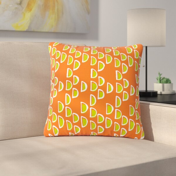 Holly Helgeson Geo Seed Outdoor Throw Pillow by East Urban Home