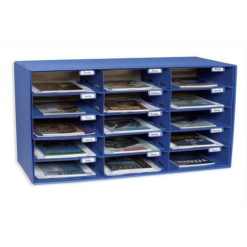 Mail Box With 15 Slots By Pacon Corporation.