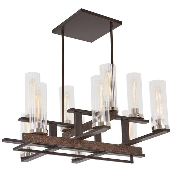 Croxton 10-Light Shaded Tiered Chandelier by Williston Forge Williston Forge