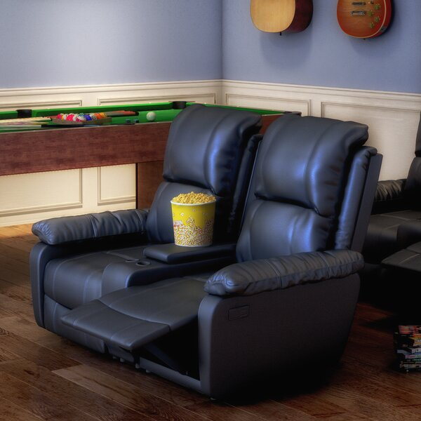 Sackville 2 Seat Home Theater loveseat by Darby Home Co