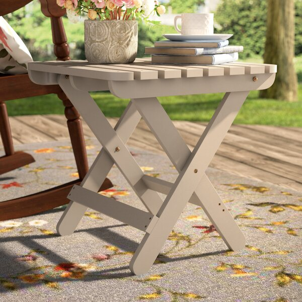 Makenzie Adirondack Folding Table by August Grove