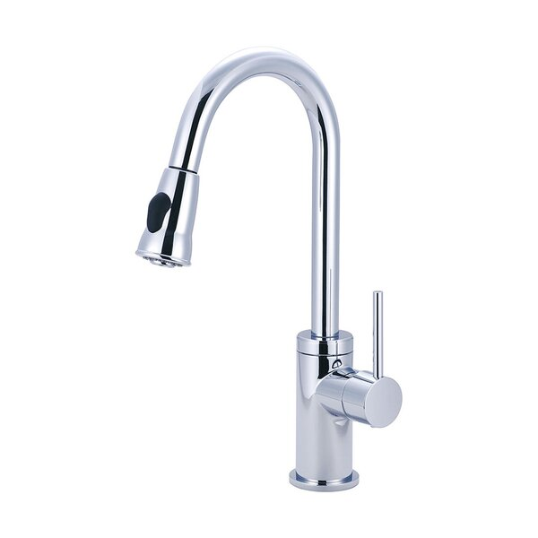 Motegi Pull Down Single Handle Kitchen Faucet by Pioneer