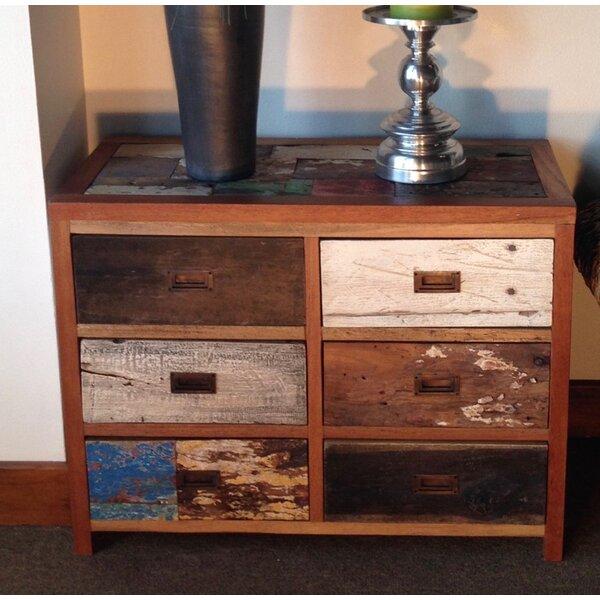 Barnes 6 Drawer Double Dresser by Loon Peak