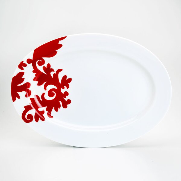 Calarama Oval Platter by Euro Ceramica